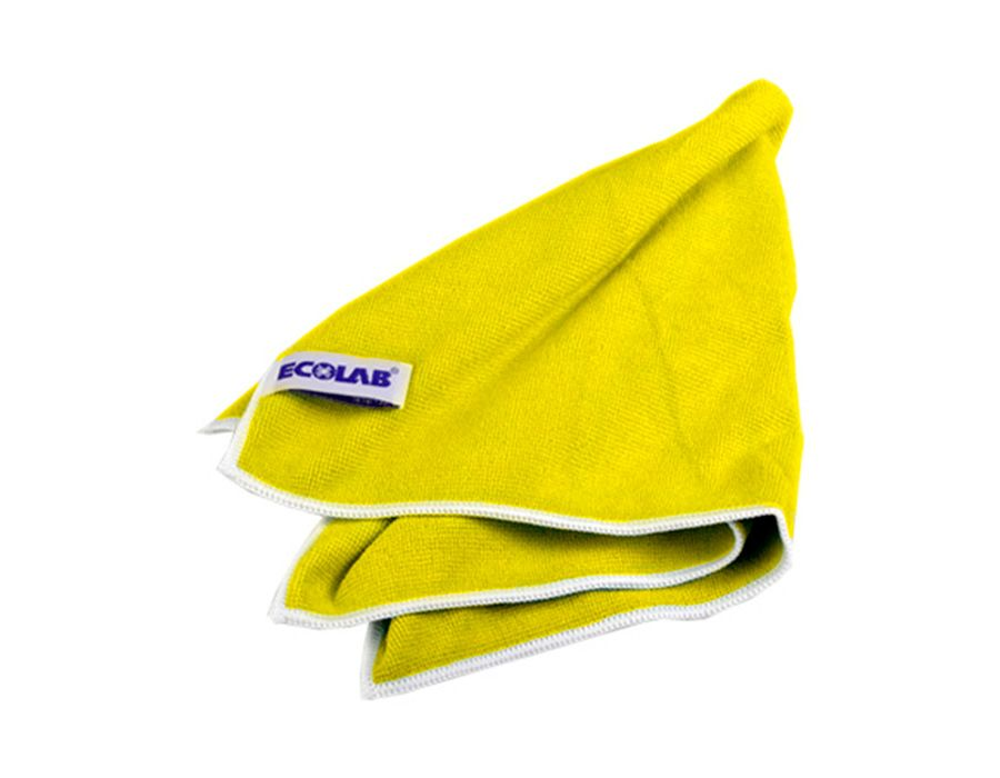 Ecolab  -  POLIFIX  MICROCLIN  YELLOW  Салфетка  «Микроклин»  тканая,  микрофибра.  ID110493